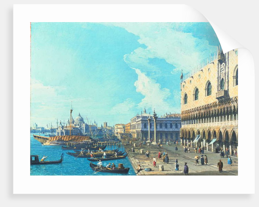 View of Venice with the Salute, c.1735 by Canaletto
