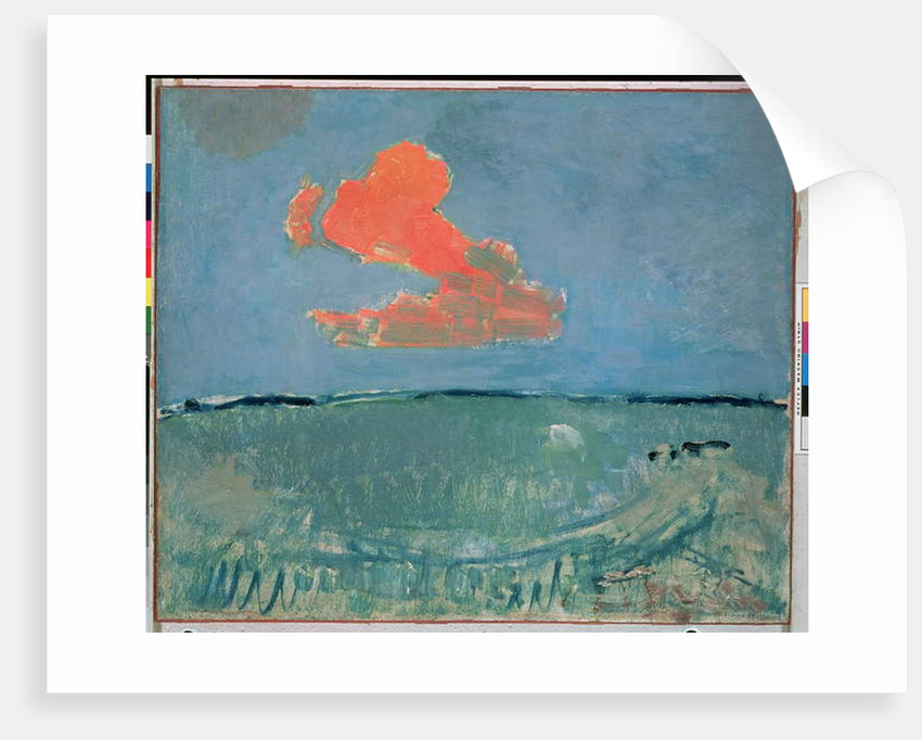 The Red Cloud, c.1907 by Piet Mondrian