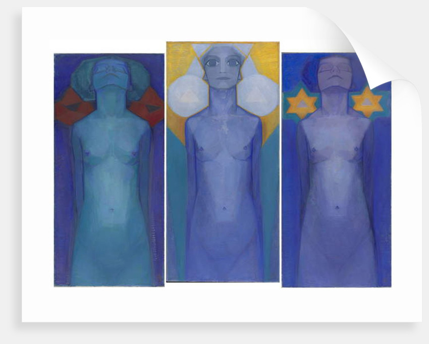 Evolution, c.1911 by Piet Mondrian