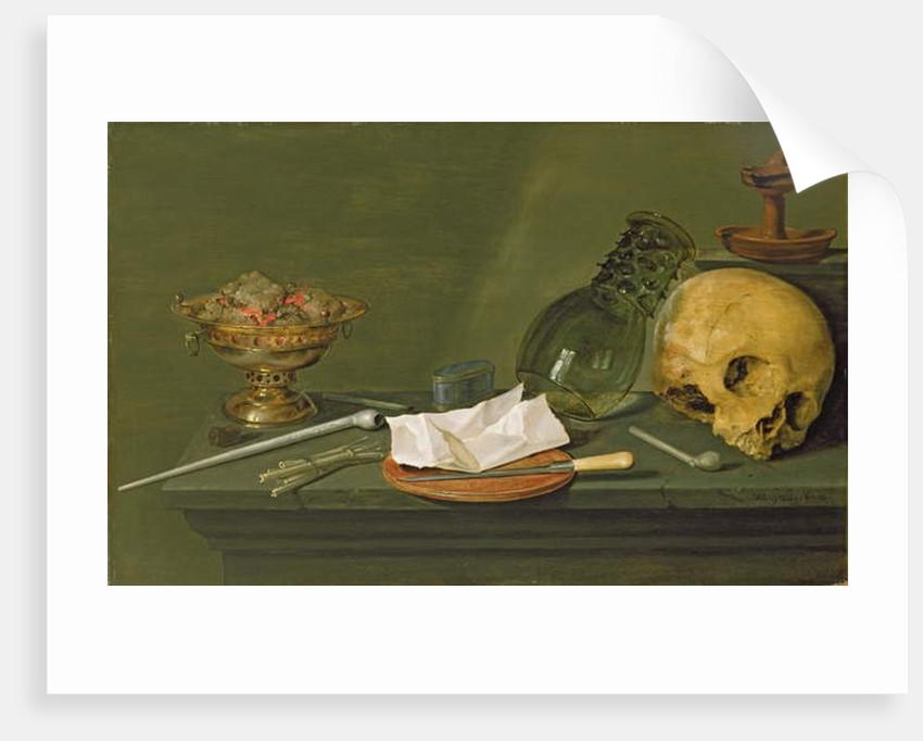 Vanitas, 1628 by Willem Claesz. Heda