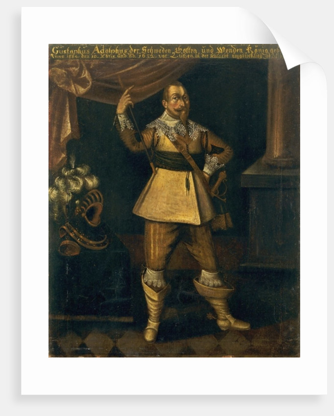 Gustavus Adolphus II, King of Sweden by Anthony van Dyck
