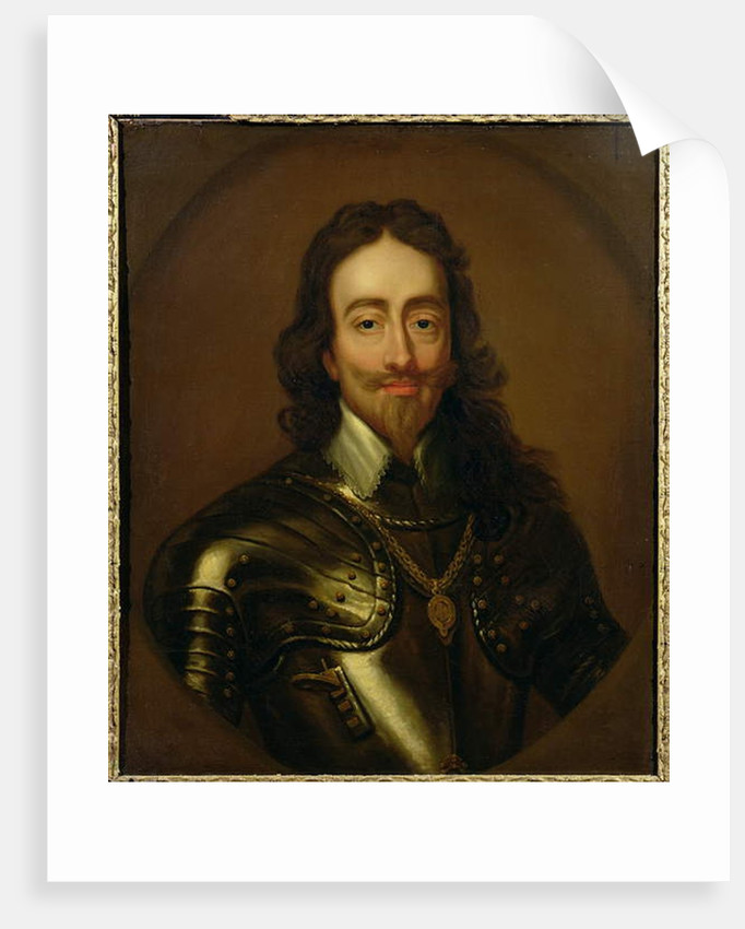 Portrait of King Charles I of Great Britain and Ireland by Anthony van Dyck