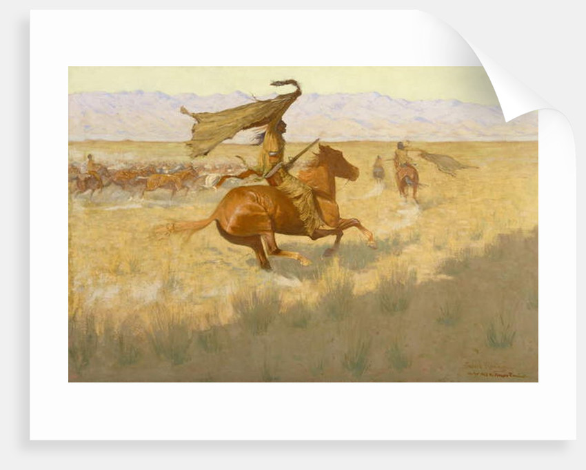 Change of Ownership 1903 by Frederic Remington