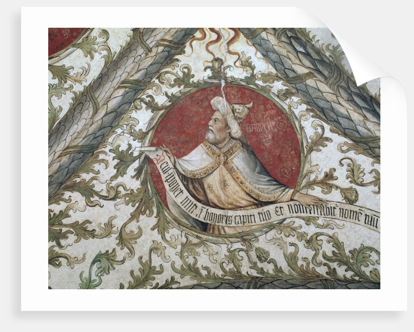The Prophet Baruch by d'Allamagna Giusto