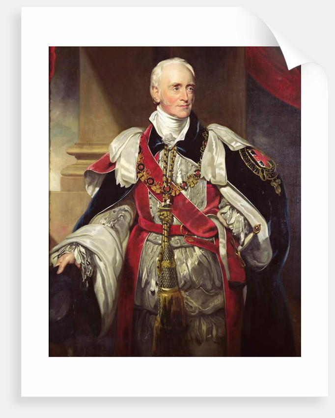 Philip Yorke, Third Earl of Hardwicke by Thomas Lawrence