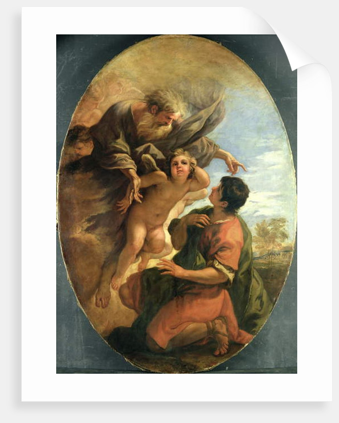 God appears to Moses in the Burning Bush, c.1695-1700 by Sebastiano Ricci