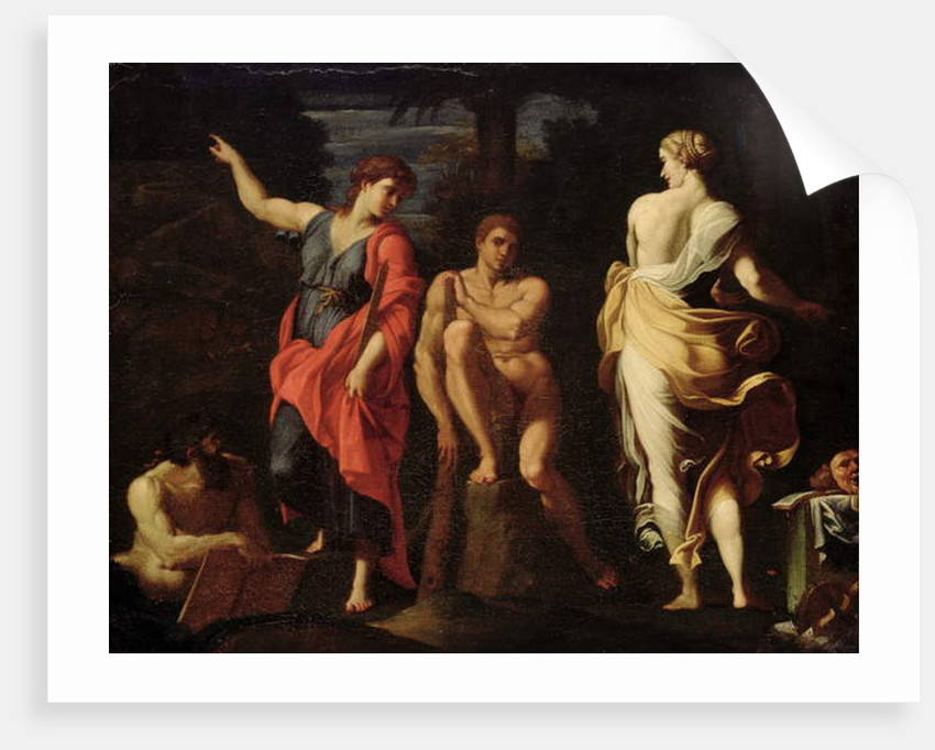 Hercules at the Crossroads by Annibale Carracci
