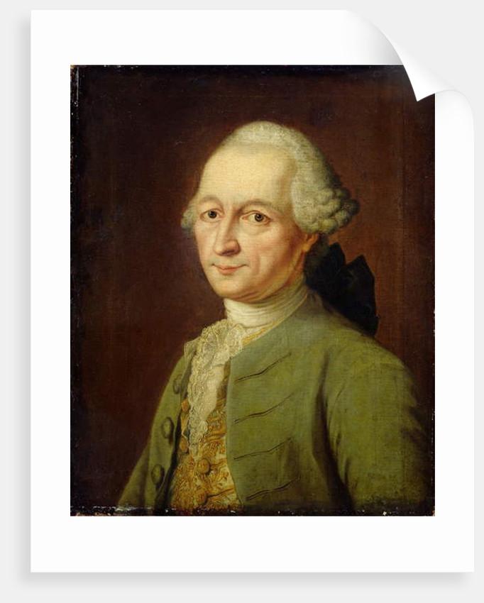 Abraham Gotthelf Kaestner, 1770 by Johann Heinrich Tischbein