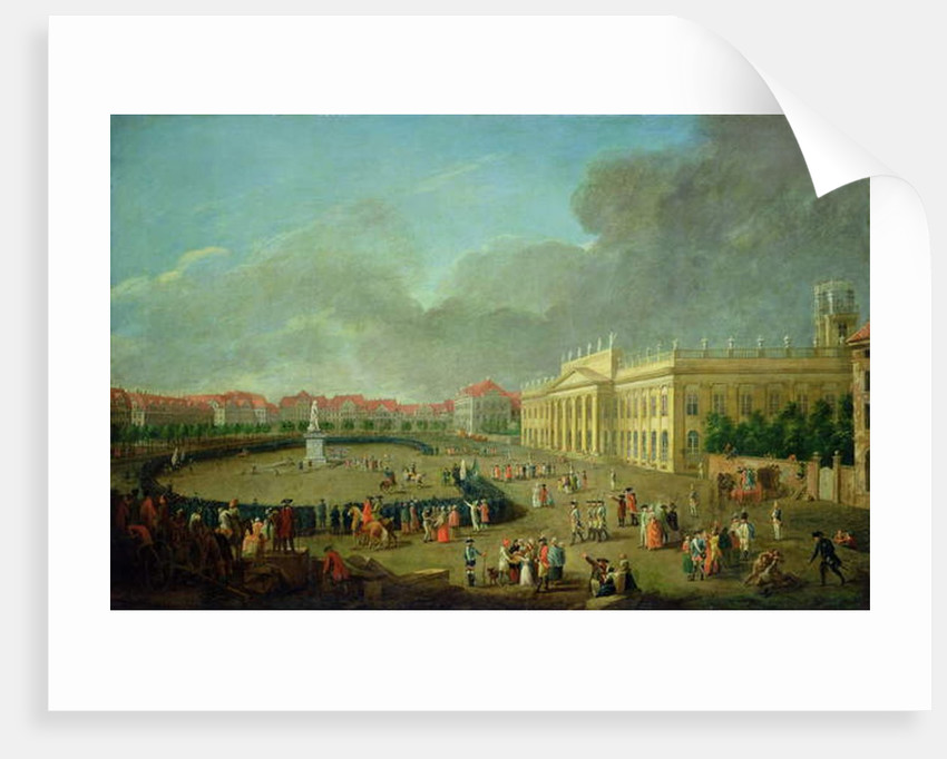 The Dedication of the Memorial to Frederick II at Kassel, 1783 by Johann Heinrich Tischbein