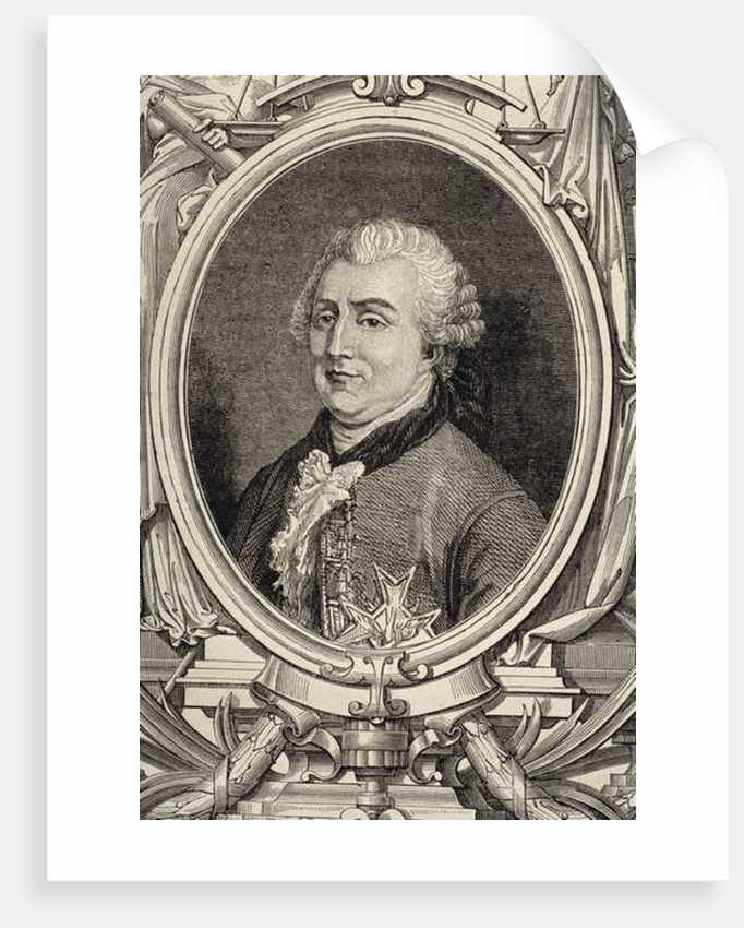 Portrait of Charles Gravier, Count of Vergennes by French School