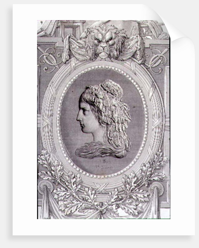 Charlotte Corday engraved by Stephane Pannemaker by Leopold Mar