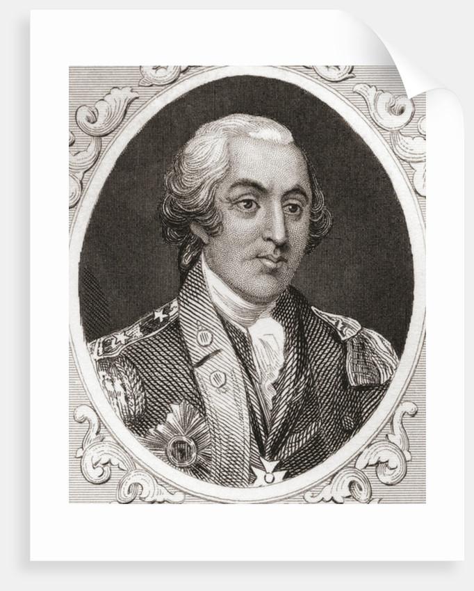 Friedrich Wilhelm August Heinrich Ferdinand von Steuben by English School
