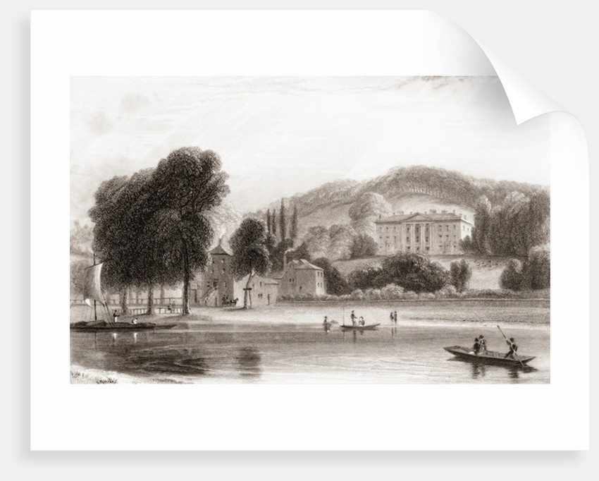 19th century view of Beaumont Lodge by Anonymous