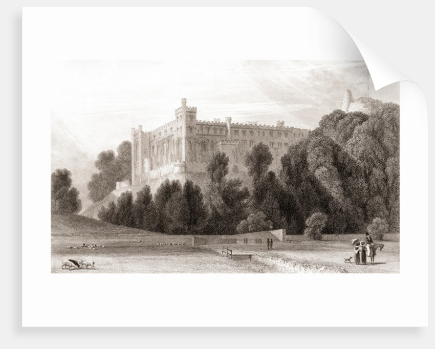19th century view of Arundel Castle by Anonymous