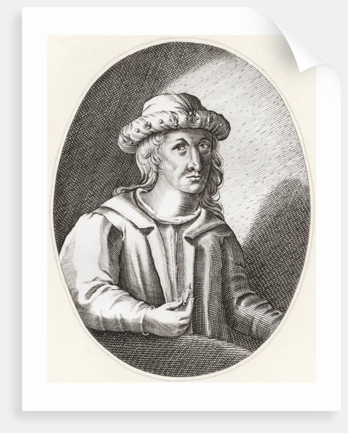 Robert III of Scotland, born John Stewart, aka Earl of Carrick by Anonymous