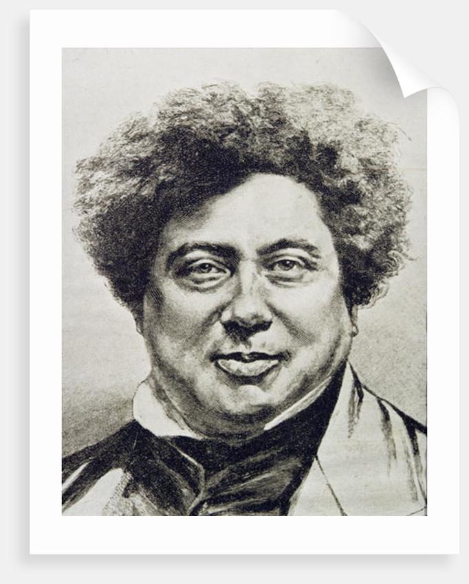 Alexandre Dumas Pere by English School