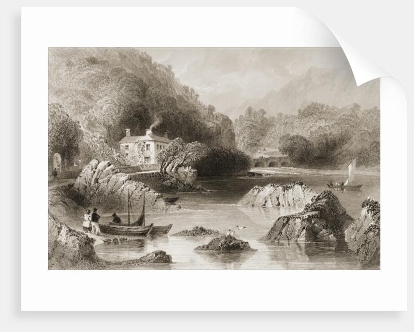 Gleengarriff Inn, Gleengarriff, County Cork by William Henry Bartlett
