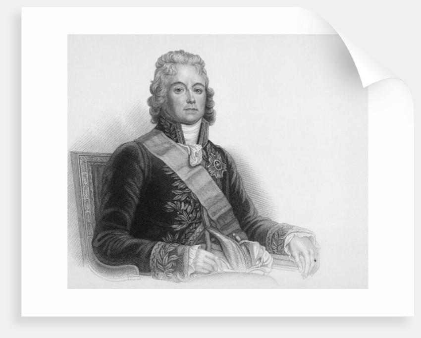 Portrait of Charles-Maurice de Talleyrand-Perigord, Prince de Benevent by English School