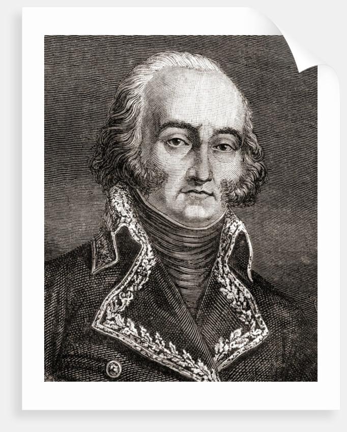 Jean-Baptiste Cyrus de Timbrune de Thiembronne, Comte de Valence by French School