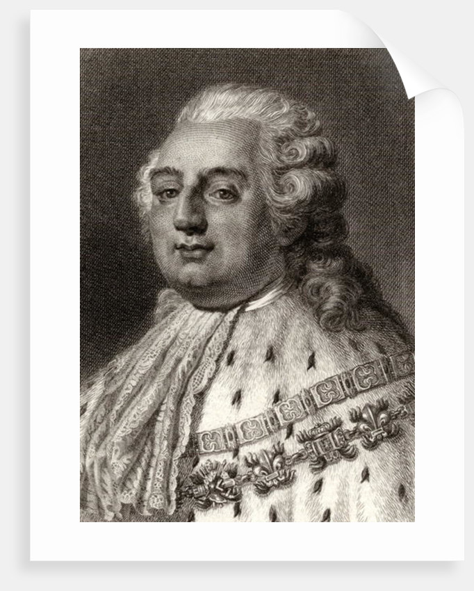 Louis XVI King of France by English School