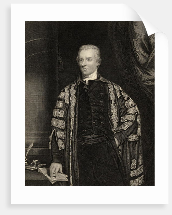 William Pitt the Younger by English School