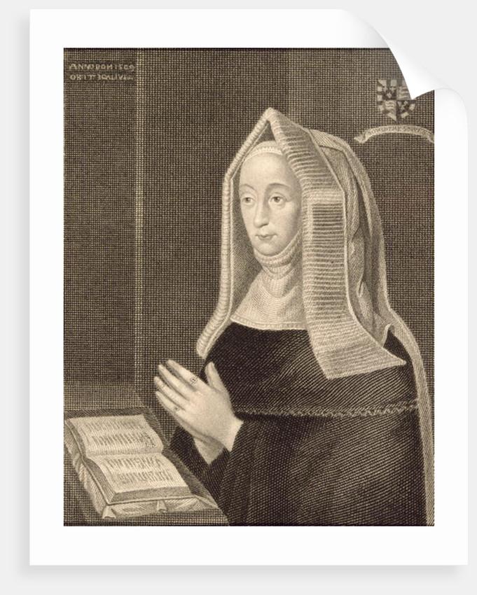 Portrait of Margaret Beaufort by English School