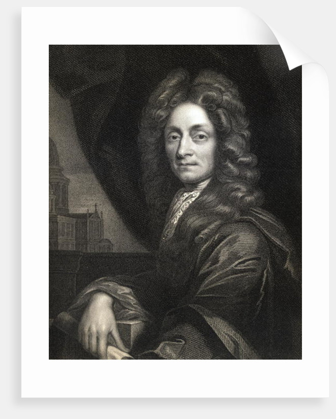 Sir Christopher Wren by English School