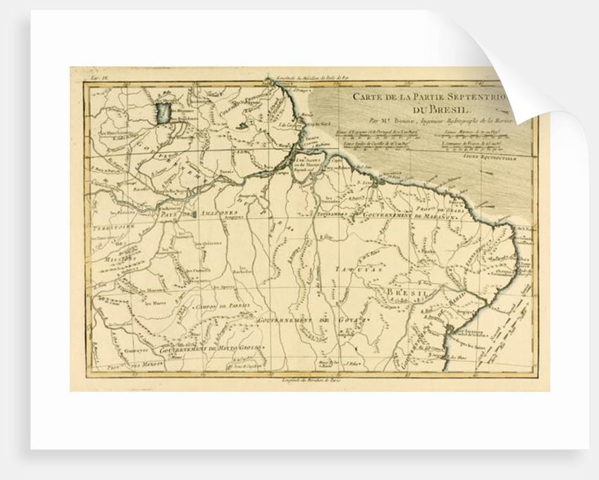 Northern Brazil by Charles Marie Rigobert Bonne