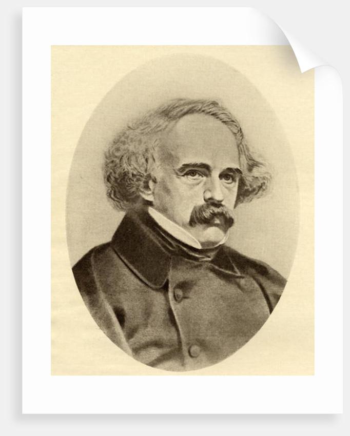 Nathaniel Hawthorne by American School