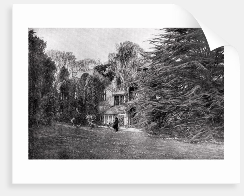 Farringford at Freshwater Bay, home of Alfred Lord Tennyson by English School