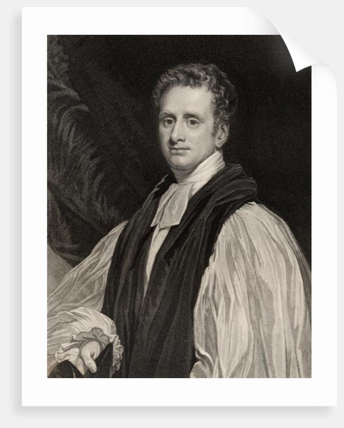 Reginald Heber by English School