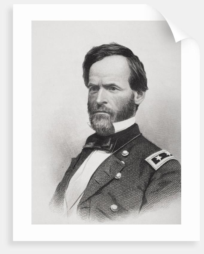 Portrait of General William Tecumseh Sherman by American School