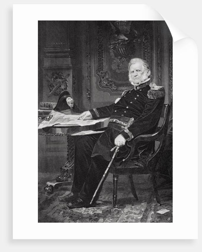 Portrait of Winfield Scott by Alonzo Chappel