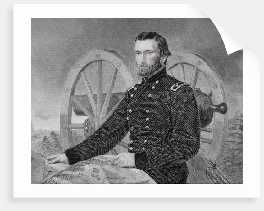 Ulysses S. Grant by Alonzo Chappel
