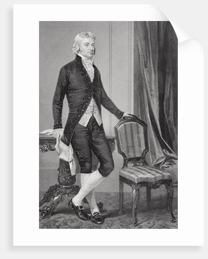 Portrait of Robert R. Livingston by Alonzo Chappel