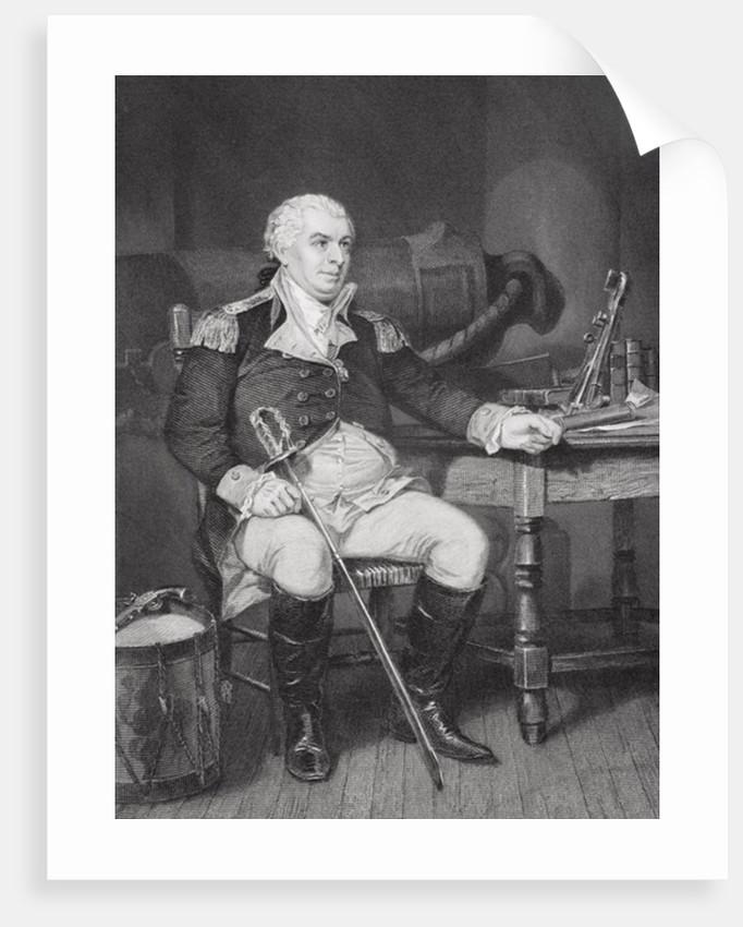 Portrait of John Barry by Alonzo Chappel