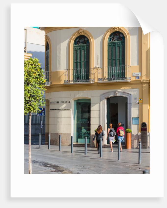 Malaga, Costa del Sol, Spain. Picasso birthplace. by Unknown