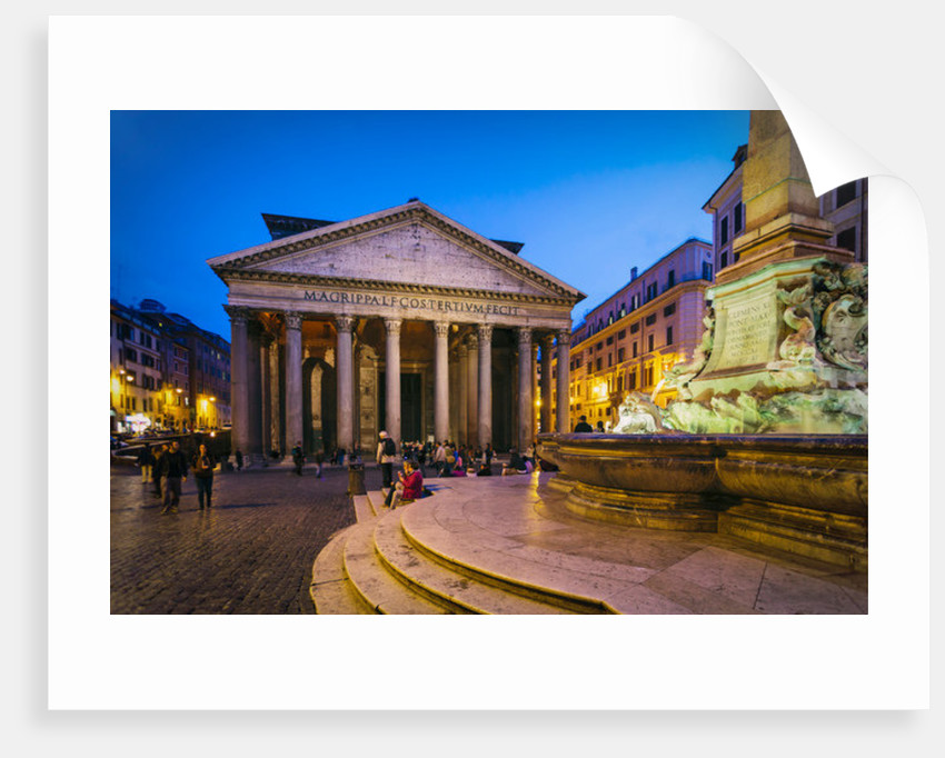 Rome, Italy. The Pantheon. by Unknown