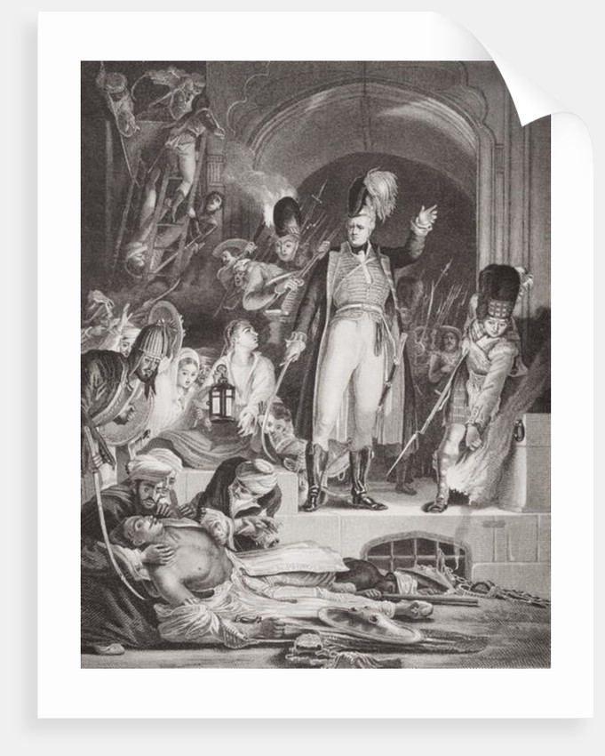 Sir David Baird discovering the body of Tippoo Sultan after the capture of Seringapatam, 4 May 1799 by Sir David Wilkie