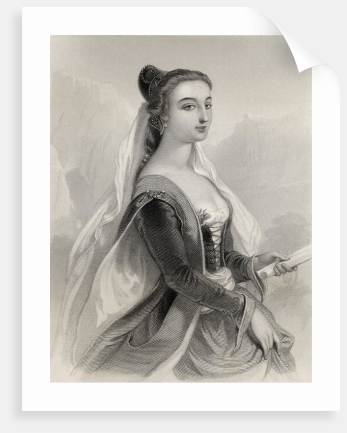 Laura de Noves by Pierre Gustave Eugene Staal