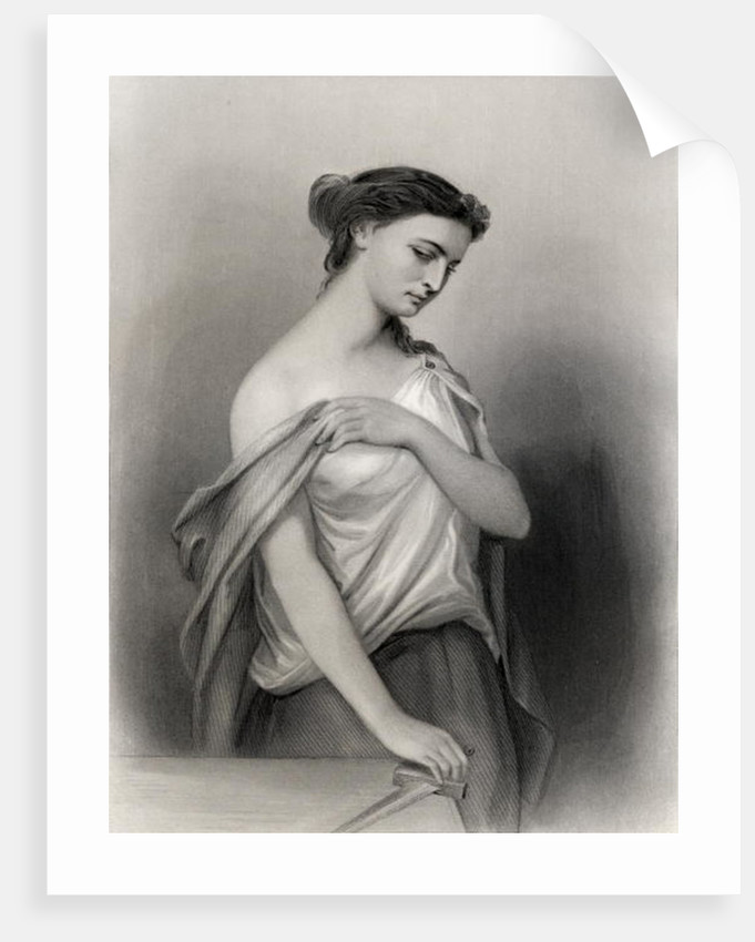 Lucretia by Pierre Gustave Eugene Staal