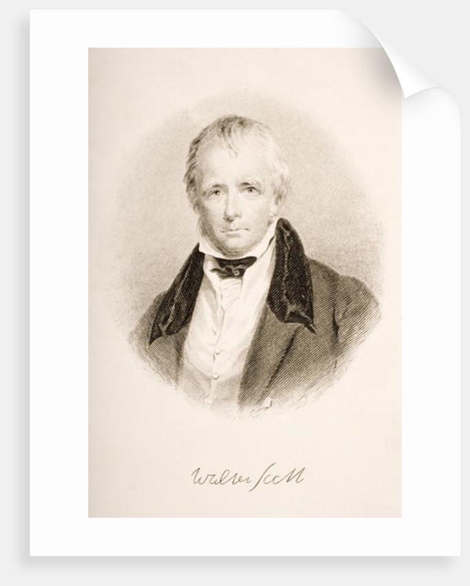 Sir Walter Scott by English School