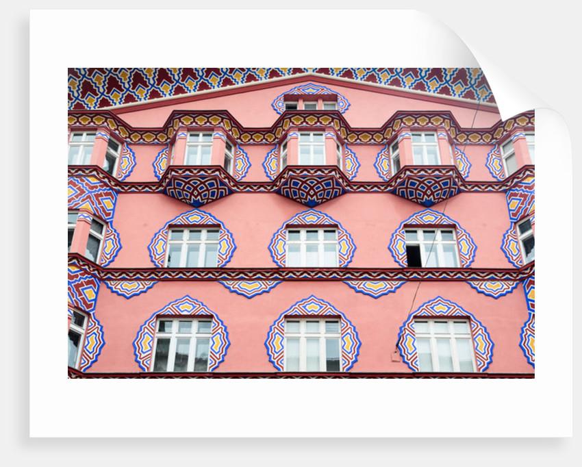 Cooperative Bank facade, Ljubljana by Anonymous
