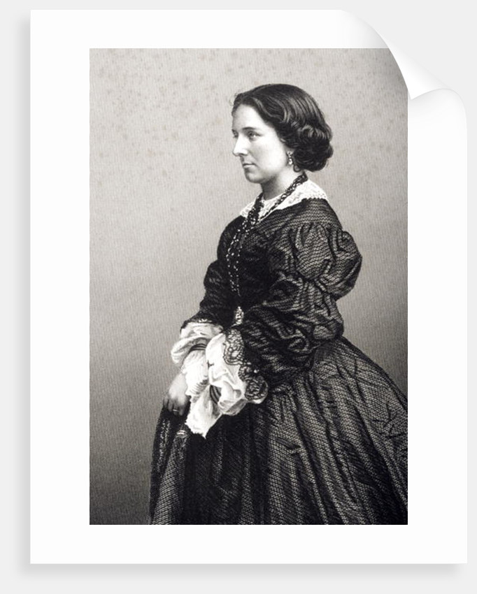 Madame Constance Nantier-Didiee by John Jabez Edwin Paisley Mayall