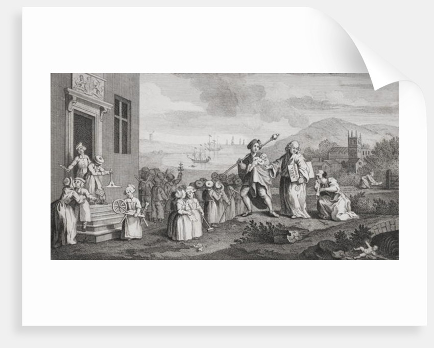 The Foundlings by William Hogarth