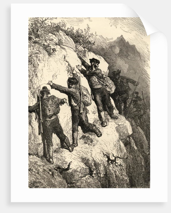 Spanish Contrabandistas by Gustave Dore