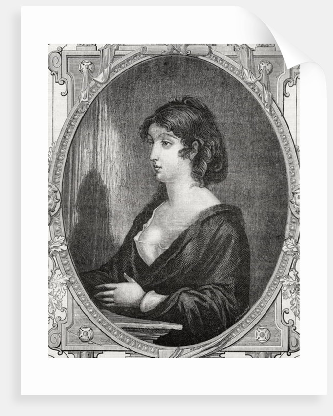 Aimee Cecile Renault engraved by Pannemaker after Rambert by French School