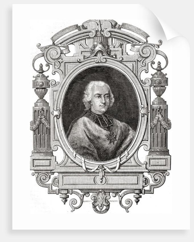 Cardinal de Rohan by French School