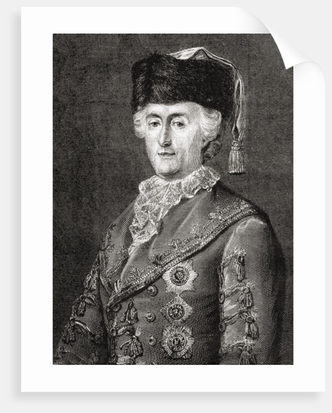 Catherine II by Eugene Joseph Viollat