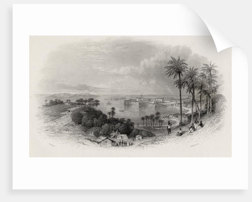 Bombay India by Thomas Allom